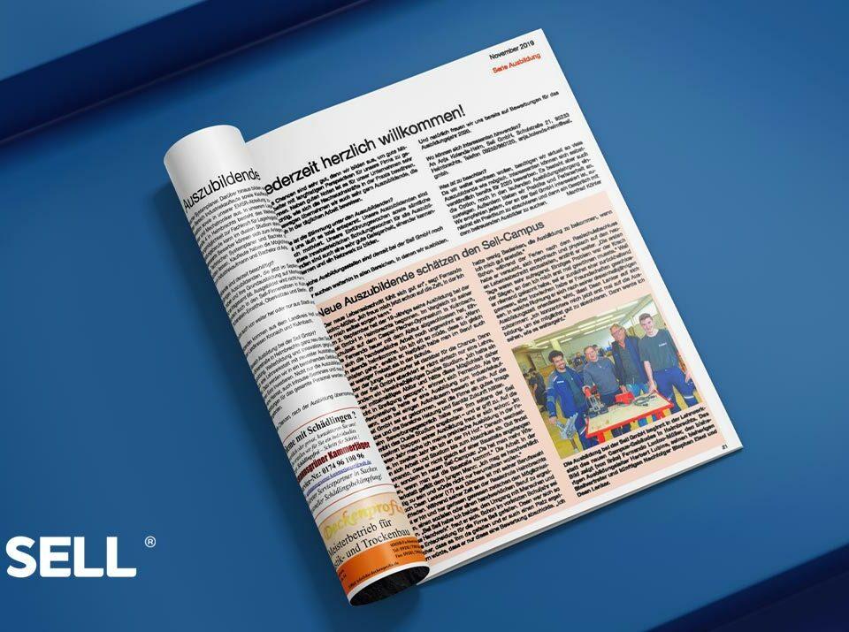 PRO HOF Magazin berichtet über die Sell GmbH