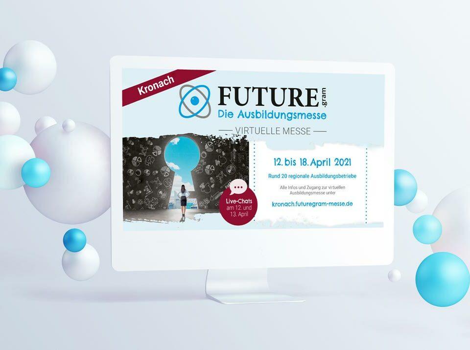 Virtuelle Ausbildungsmesse FUTURE.gram Kronach vom 12. bis 18. April